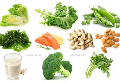 High calcium foods for health