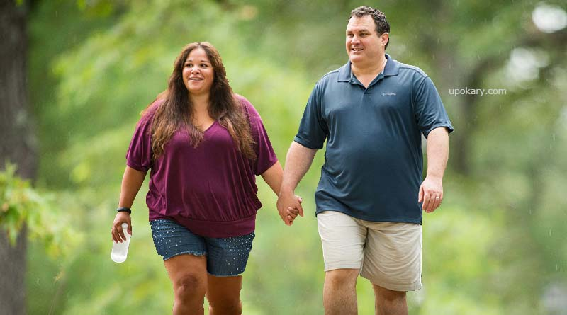 obesity couple
