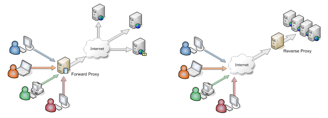 forwar proxy and reverse proxy