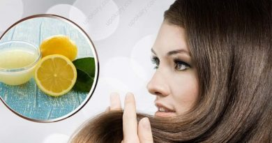 hair care with lemon juice