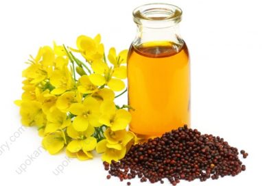 Organic Mustard Oil with seeds