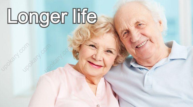 longer life old couple