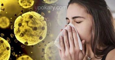 coronavirus girl sneezing