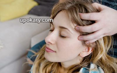 Headache Head Massage
