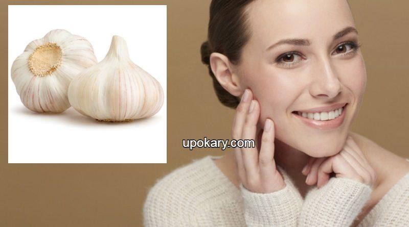 garlic for skin