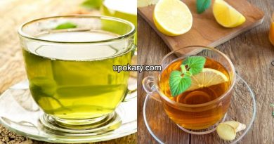 lemon tea vs green tea