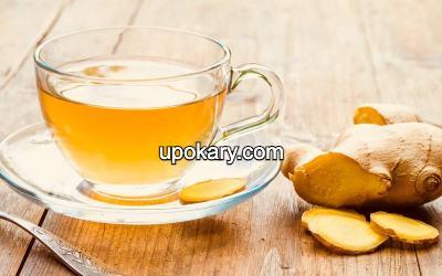 Herbal ginger tea