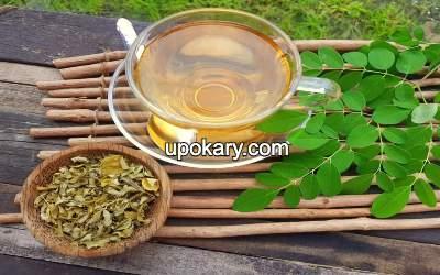 Herbal maringa tea