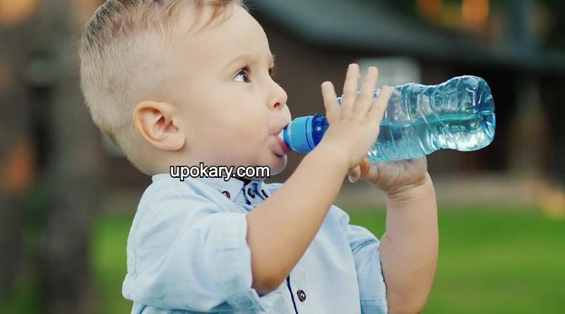 child dehydrated