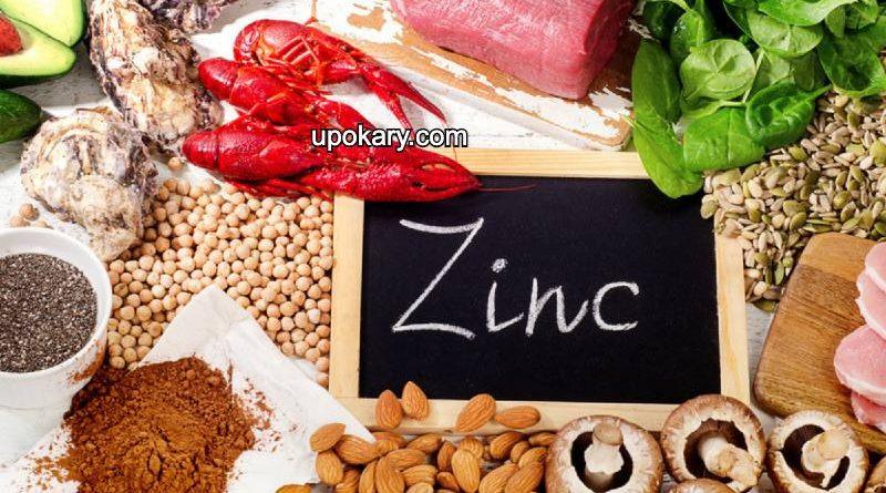 zinc high food