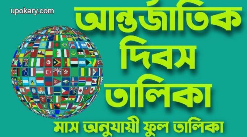 International Day of Importance