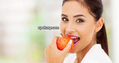after eating fruit