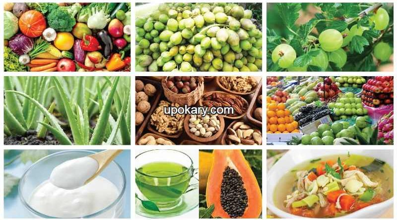 Foods to eat in case of fever